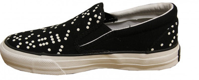 Converse Skateboard shoes Skidgrip Ev Dice Black/White Slip On – Bild 2
