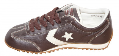 Converse Skateboard Schuhe Leather Trainer Brown Sneakers Shoes – Bild 2