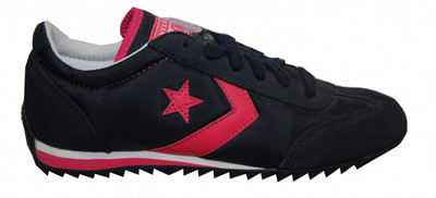 Converse Skateboard Schuhe Nylon Trainer Navy/Pink Sneakers Shoes – Bild 1