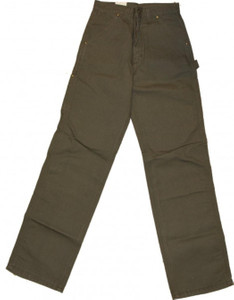 Carhartt Skateboard Single Knee Pant Mud RInsed – Bild 1