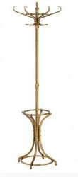 Casa Padrino Designer Luxus Garderobenständer London - Edelstahl - Messing Finish