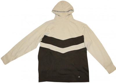 Freshjive Skateboard Pullover Hoodie Sweater Cream/Brown – Bild 1