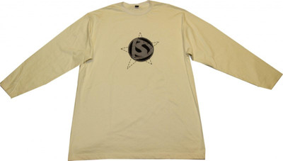 Demolition Skateboard Langarm Shirt Cream – Bild 1