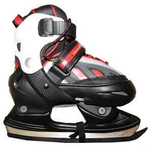 Hudora Xpulse Skates Ice Skates Black/Red/White  Profi SSkates Kids Ice Skates – Bild 1