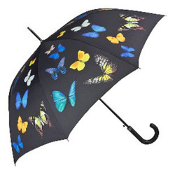 Designer Umbrella umbrella motif with butterfly dancing butterflies - Elegant Umbrella - Luxury Design - Automatic Umbrella
