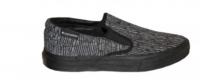 Converse Skateboard Schuhe Skidgrip Ev Court Black / White Slip On – Bild 1