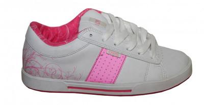 Osiris Skateboard Schuhe Volley Girls White / Pink Sneakers Shoes – Bild 1