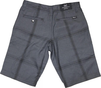 Fourstar Skateboard Herren Shorts Grey/Black Plaid – Bild 2