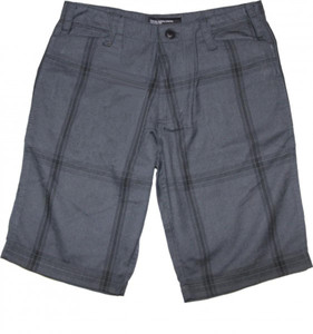 Fourstar Skateboard Herren Shorts Grey/Black Plaid – Bild 1
