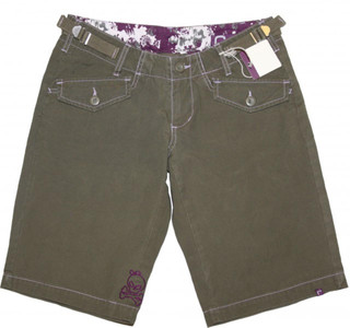 Ragwear Skateboard Damen Shorts Term Military – Bild 1