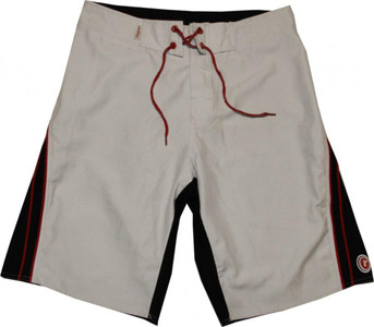 Redley Skateboard men´s Badeshort White/Black – Bild 1