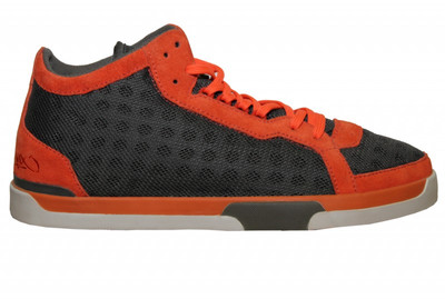 K1X Skateboard Schuhe Play Hard Grey/Orange Shoes – Bild 1