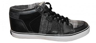 Circa Skateboard Damen Schuhe Pusher Black/ Grey Plaid – Bild 1