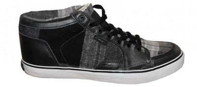 Circa Skateboard women´s shoes Pusher Black/ Grey Plaid – Bild 1