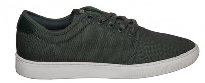 WeSC Skateboard Schuhe Edmond Green/White Canvas Shoes – Bild 1