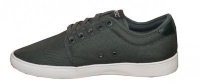 WeSC Skateboard Schuhe Edmond Green/White Canvas Shoes – Bild 2