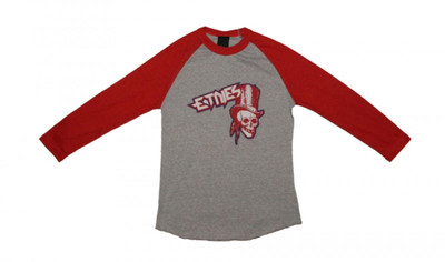 Etnies Skateboard Damen T-Shirt Journey Raglan Grey/Red