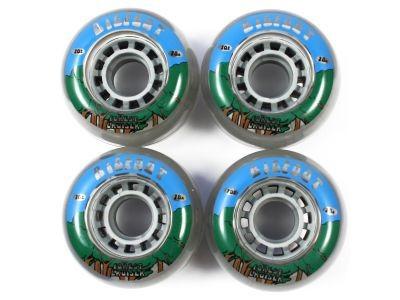 Big Foot Longboard Wheels Forest Clear 70mm / 78a Wheel Set Rollen Skateboard Bigfoot