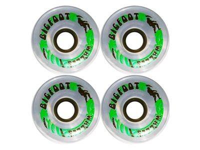 Big Foot Longboard Wheels Paradise Clear 70mm / 78a Wheel Set Rollen Skateboard Bigfoot