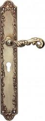 Casa Padrino luxury Art Nouveau door hardware door fitting door handle with solid brass Milano - French Gold