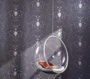 Harald Glööckler Designer Barock Tapete Deux 54425 - Silber Rosa – Bild 2