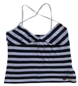 Meltin Pot Sketebord Girlie T-Shirt Amidala Blue/White Stripes