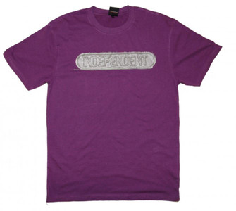 Independent Truck Company Skateboard T-Shirt Baseplate Purple