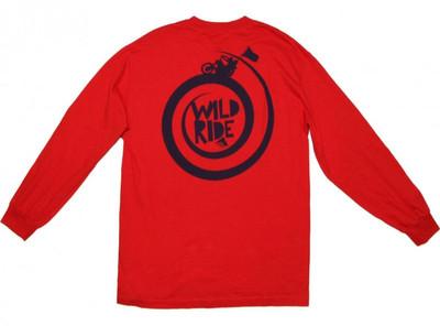 Emerica Skateboard Langarm T-Shirt  Wild Ride Red – Bild 2