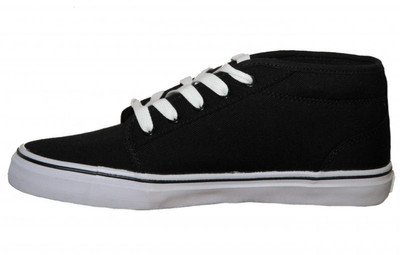 Adio Skateboard Schuhe Sydney Mid Black /White Sneakers Shoes – Bild 2
