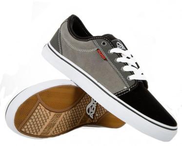 Adio Skateboard Schuhe Sydney Suede Black/ Charcoal Sneakers Shoes – Bild 2