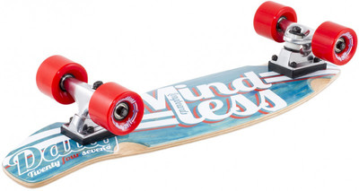 Mindless Stained Daily Oldschool Skateboard Wood Cruiser Komplettboard - Old School Complete Skateboard mit Koston Kugellagern – Bild 1
