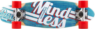 Mindless Stained Daily Oldschool Skateboard Wood Cruiser Komplettboard - Old School Complete Skateboard mit Koston Kugellagern – Bild 3