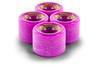 Mindless Voodoo Longboard Wheel Set (4 Rollen) Maji Purple 70mm / 81A - Cruiser Skateboard Rollen - Wheels – Bild 2