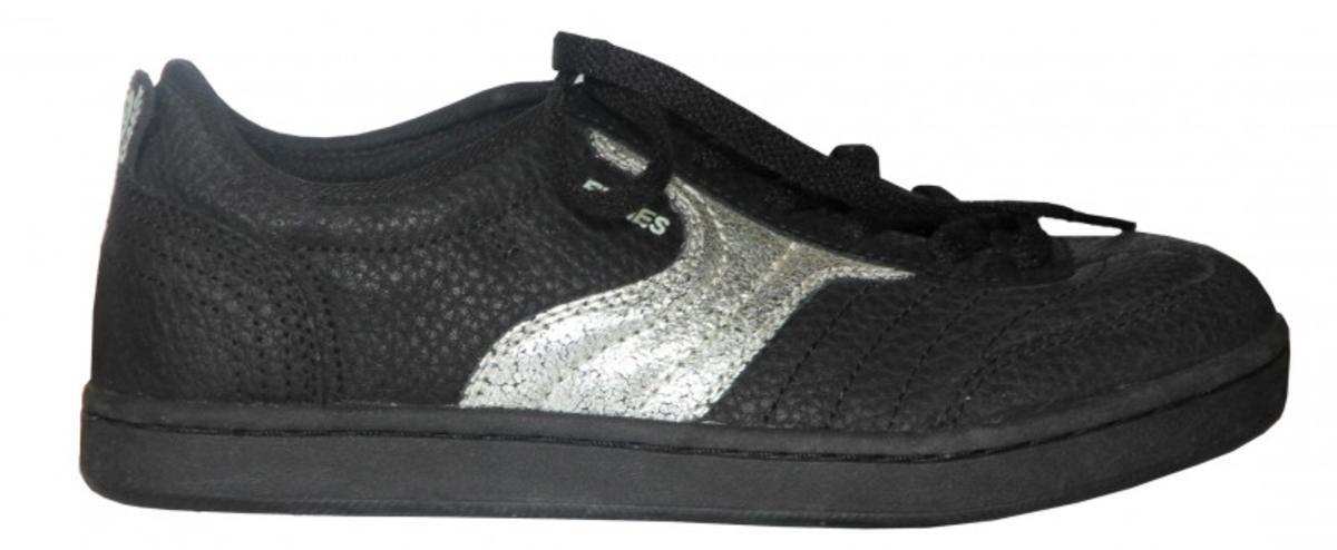 7fe684360ade Etnies Skateboard womens shoes Debut black  gunmetal sneakers shoes ...