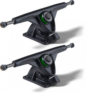 Mindless Longboard Pro Truck Set Black 180mm (2 trucks) - Longboard Skateboard Truck Set - Trucks – Bild 1