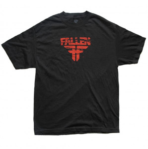 Fallen Skateboard T-Shirt Black/Red
