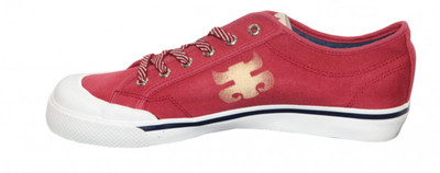 I-Path Skateboard Schuhe Dazed Bordeaux/White – Bild 2