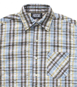 The Hundreds Skateboard Shirt Green/Yellow/White Plaid – Bild 2