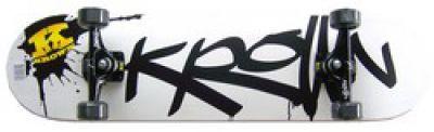 Krown Pro Black Splat Logo Komplettboard Skateboard 8.0 inch – Bild 1