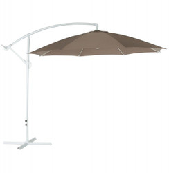 Casa Padrino umbrella with aluminum stand brown diameter 300 cm