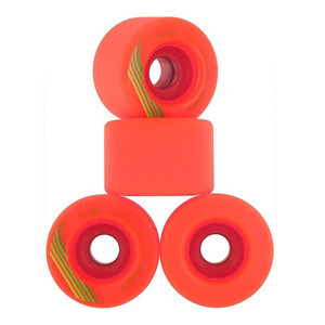 Orangetang Longboard Profi Wheels The Cage 73mm / 80a Orange - Longboard Cruiser Wheel Set (4 Rollen) – Bild 1