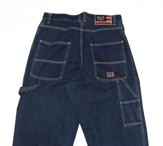 Cakt Skateboard Jeans Hose Blue Hip Hop Pant – Bild 3
