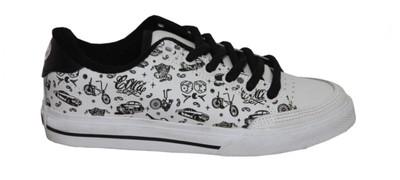 Circa Skateboard Girls Schuhe ALW50  White/Black Bicycle