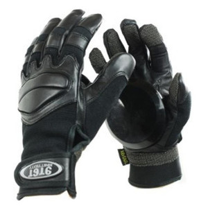 Ninetysixty Slide Gloves Longboard Gloves Black - Skateboard Gloves Black - Slidegloves – Bild 1
