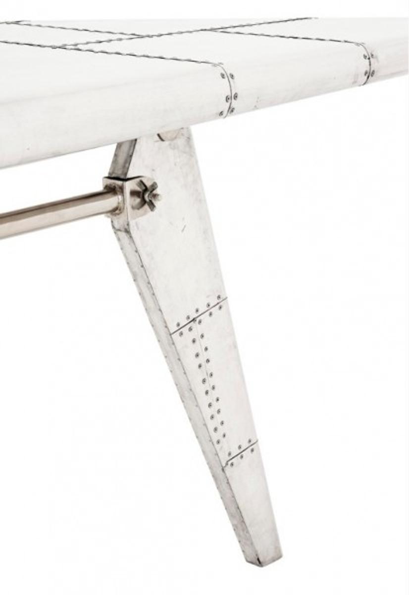GroBartig Casa Padrino Luxus Designer Schreibtisch Aircraft Wing Aluminium Flugzeug  Flügel Art Deco Vintage U2013 Bild 3