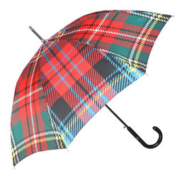 Jean Paul Gaultier Luxus Designer Regenschirm in elegantem Plaid-Muster Mod2 - Luxus Design - Eleganter Stockschirm
