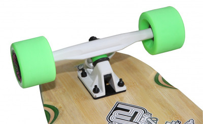 Flying Wheels Longboard kicktail complete board 110 x 25.5 cm Cruiser Carver - Special Edition with Koston ball bearings – Bild 3