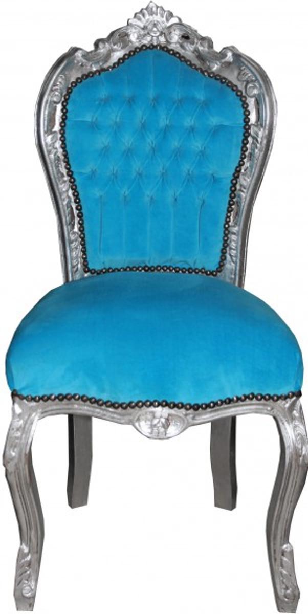 Casa padrino barock esszimmer stuhl ohne armlehne t rqis for Stuhl esszimmer armlehne