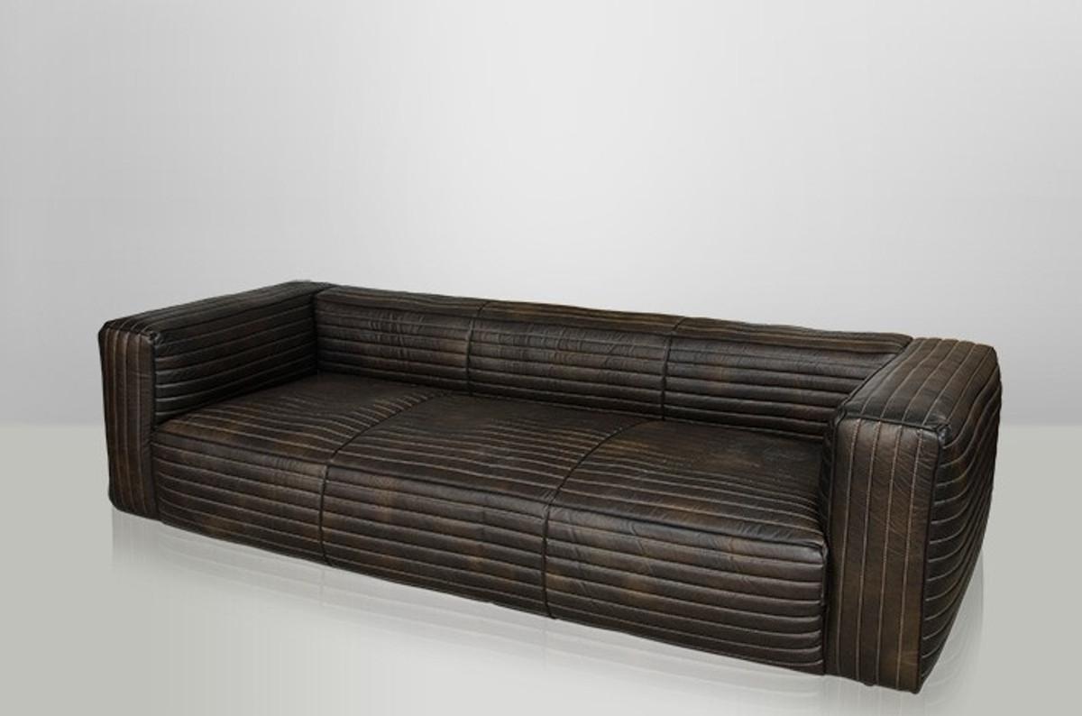 casa padrino luxus echt leder sofa vlab leder new fudge. Black Bedroom Furniture Sets. Home Design Ideas