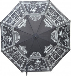Guy De Jean designer luxury boutique in Paris Mod1 black umbrella - umbrella - Elegant and Extravagant - Made in Paris Bild 2